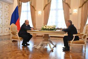 Минниханов доложил Мишустину о ситуации с Covid-19 в Татарстане