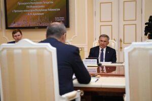 Рустам Минниханов встретился с Премьер-министром Узбекистана