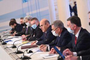 Минниханов принял участие во встречах Мишустина с премьерами Таджикистана и Узбекистана