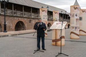 Историю Казанского Кремля в годы войны расскажет баннерная выставка под открытым небом