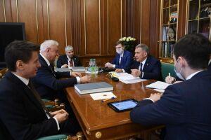 Президент Татарстана назвал приоритетом развитие сотрудничества со странами ЕАЭС
