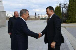 Рустам Минниханов встретился с Премьер-министром Таджикистана