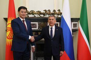 Минниханов обсудил с Премьер-министром Кыргызстана пути расширения сотрудничества