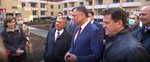 Минниханов и Хуснуллин побывали во введенном в эксплуатацию доме ЖК «МЧС»