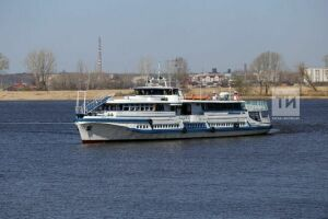 В Татарстане открылась пассажирская навигация по Волге и Каме