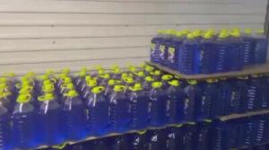 В Челнах в подпольном цеху нашли 2 тыс. литров ядовитой незамерзайки