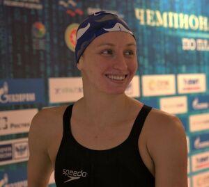 Татарстанская пловчиха завоевала золото на чемпионате России в Казани