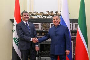 Минниханов предложил иракскому министру развивать сотрудничество с «Татнефтью»