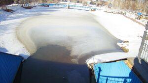 Экологи обнаружили разлив нефти в парке «Каскад прудов» на юго-востоке Татарстана