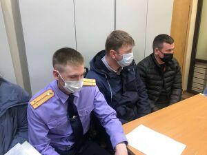 Сбежавшего после аварии в центре Казани экс-полицейского отправили в СИЗО