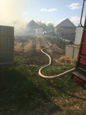 В Татарстане ребенок получил ожоги лица и ног на пожаре