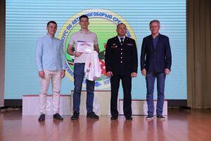 Наградили студента из РТ, занявшего первое место в конкурсе «Всероссийский диктант ПДД»