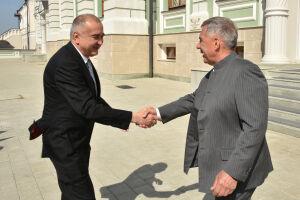 Минниханов и делегация Узбекистана обсудили обмен опытом в IT и благоустройстве дворов