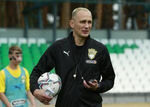 Экс-голкипер «Рубина» Рыжиков провел первую тренировку в качестве главного тренера