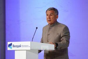 Минниханов: Успех Татарстана — в сильной экономике и межнациональном согласии