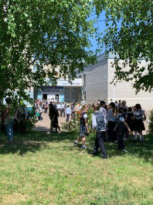 В казанской школе № 174 идет эвакуация