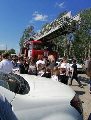 В Челнах эвакуировали школу из-за сообщения о возможном теракте