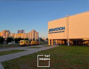 Из-за брошенного рюкзака эвакуировали спортивный гипермаркет в Казани
