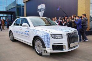 «Будет прославлять Россию в мире»: в Елабуге открыли завод премиальных автомобилей Aurus