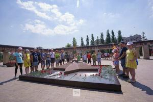 Казанцы присоединились к Всероссийской минуте молчания в парке Победы