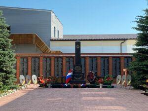 В Татарстане на территории учебного центра УФСИН открыли мемориал памяти ветеранам
