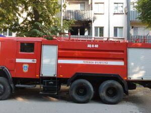 Из пожара в четырехэтажке Лениногорска спасли женщину