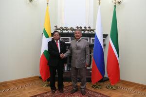 Президент Татарстана: Впоследние годы наблюдаем рост товарооборота с Мьянмой