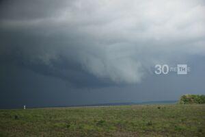 В субботу в Татарстане ожидаются 36-градусная жара и гроза со шквалистым ветром