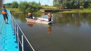 В реке под Нижнекамском нашли тело мужчины, пропавшего накануне