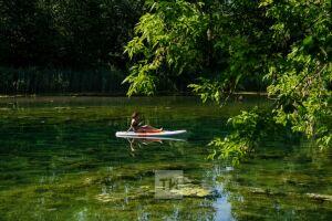 Голубые озера зацвели токсичными водорослями: казанский эколог объясняет почему
