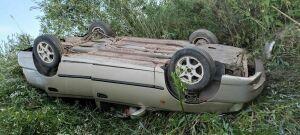 Трое взрослых и ребенок пострадали в авто из Башкирии, которое вылетело с трассы в РТ