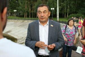 Марат Нуриев: Вместе с жителями будем биться, чтобы фонтан на Карбышева вновь заработал