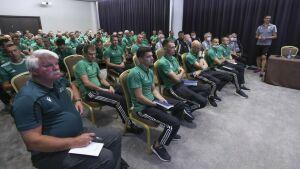 Футбольный арбитр из Казани участвует в сборе судей РПЛ в Санкт-Петербурге