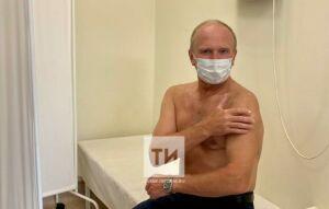 Руководитель «КАМАЗ-мастера» Владимир Чагин и его команда привились от коронавируса