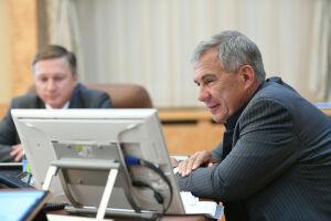 Минниханов и Умурзаков обсудили перспективы сотрудничества Татарстана и Узбекистана