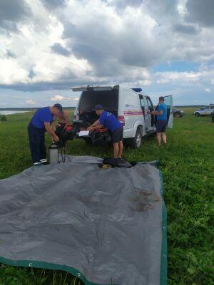 В Актанышском районе в реке утонул рыбак