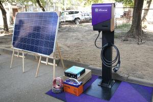 В одном из казанских дворов появится станция для зарядки электромобилей