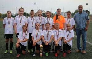 Казанская «Стрела» выиграла первенство Татарстана по футболу среди девушек