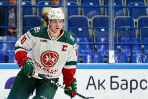Дмитрий Воронков стал самым молодым капитаном «Ак Барса» за всю историю хоккейного клуба