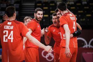Мужская сборная России по волейболу обыграла Бразилию и вышла в финал Олимпиады в Токио