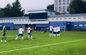 Клубы из Высокой Горы и Альметьевска выиграли первые матчи 1/2 финала Кубка РТ по футболу