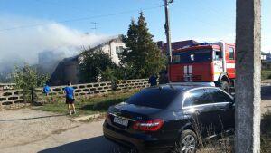 Отец с сыном погибли на пожаре в частном доме в Лаишевском районе РТ