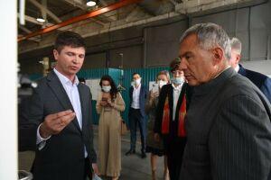 Минниханов в Челнах ознакомился с инвестиционным проектом резидента ТОСЭР