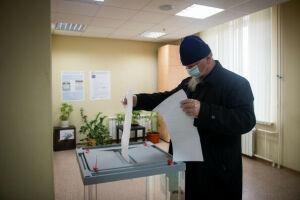 Священнослужители Казанской епархии проголосовали на выборах в Госдуму РФ