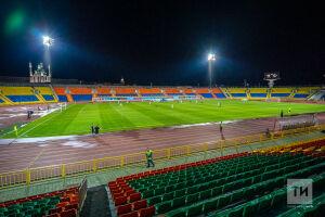 Сборная Белоруссии по футболу прилетела в Казань и потренировалась на базе ФК «Рубин»