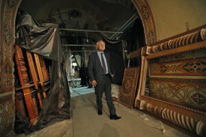 Как в Казани реставрируют Собор Петра и Павла