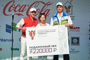 Благотворительный турнир по гольфу состоялся в «Свияжских холмах»