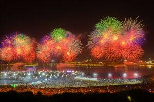 Празднование Дня Республики в Казани завершилось салютом