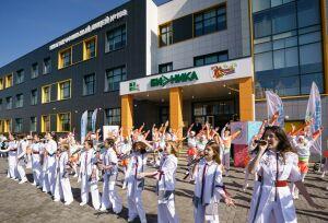 В казанском ЖК «Салават Купере» состоялось открытие лицея №188 «Бионика»