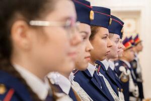58 десятиклассников стали кадетами Следкома РФ